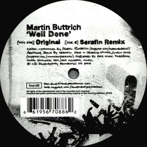 Martin Buttrich Well Done