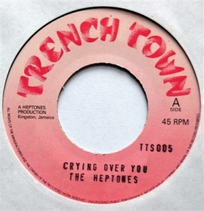 THE HEPTONES - Crying Over You - 45T (SP 2 titres)