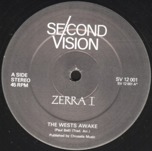 ZERRA I ‎ - The West's Awake - Maxi 45T