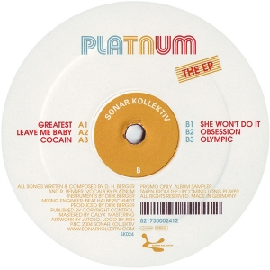 PLATNUM - The EP - 12 inch 45 rpm