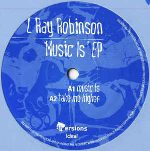 L Ray Robinson Music Is EP